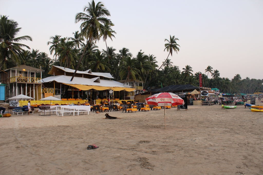 Palolem beach restaurants